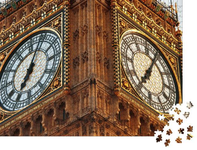 """Puzzle 1000 Teile """"Nahaufnahme von Big Ben in London"""""""