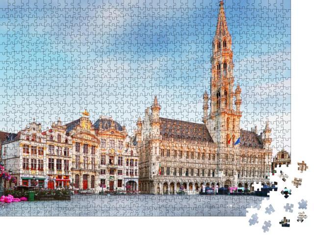 """Puzzle 1000 Teile """"Grand Place, Brüssel, Belgien"""""""