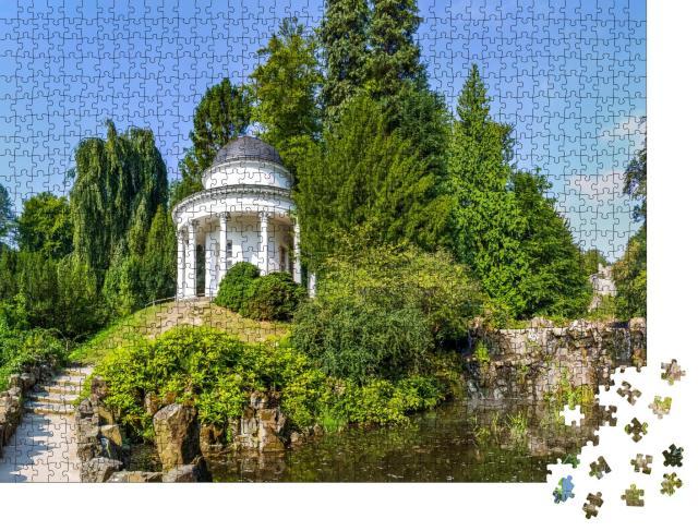 """Puzzle 1000 Teile """"Kassel, Bergpark Wilhelmshöhe, Deutschland"""""""