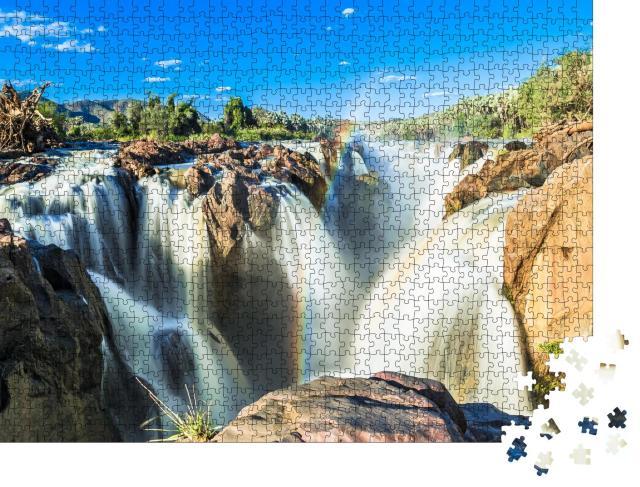 """Puzzle 1000 Teile """"Bilder der Epupa Wasserfälle, Namibia"""""""