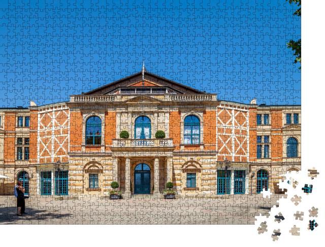 """Puzzle 1000 Teile """"Malerisches Bayreuth, Deutschland"""""""