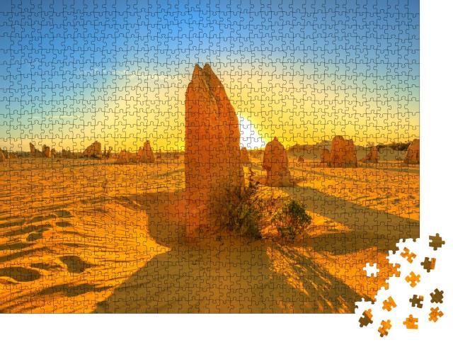 "Puzzle 1000 Teile ""Kalksteinformation, Nambung National Park, Westaustralien"""