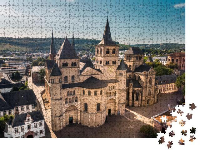 """Puzzle 1000 Teile """"Römisch-katholische Kirche in Trier, Rheinland-Pfalz, Deutschland"""""""