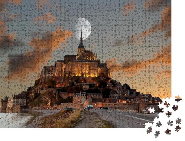 """Puzzle 1000 Teile """"Frankreich, Der Mont Saint Michel"""""""