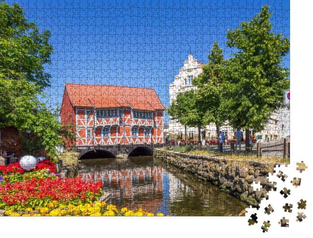 """Puzzle 1000 Teile """"Historisches Wismar, Mecklemburg-Vorpommern"""""""