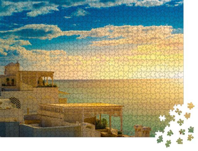 """Puzzle 1000 Teile """"Hammamet, Tunesien, alte Medina im Sonnenuntergang"""""""