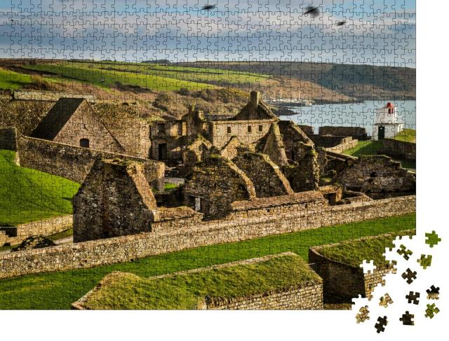 """Puzzle 1000 Teile """"Fort Kinsale, Festung in Irland"""""""