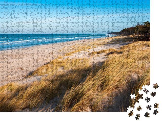 """Puzzle 1000 Teile """"Küstendünen an der Ostsee, Halbinsel Darß, Deutschland"""""""