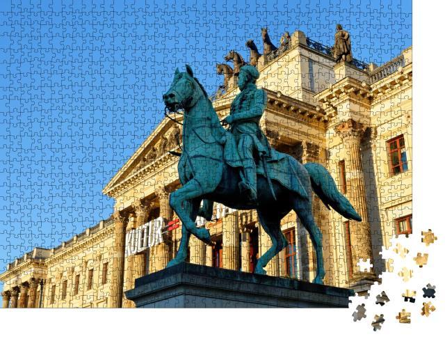 """Puzzle 1000 Teile """"Braunschweiger Schloss, Deutschland"""""""
