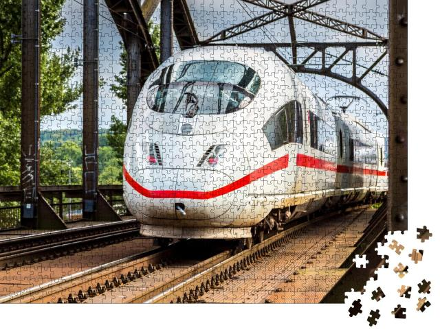 """Puzzle 1000 Teile """"InterCity Express"""""""