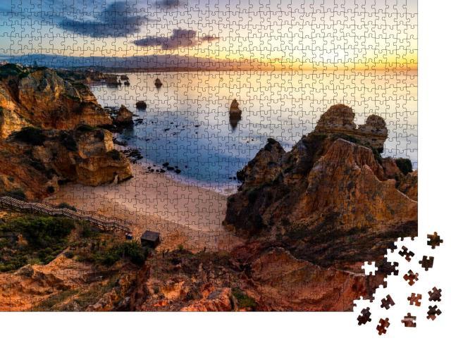 "Puzzle 1000 Teile ""Camilo Beach an der Algarve"""