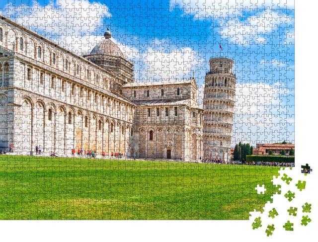 "Puzzle 1000 Teile ""Dom und schiefer Turm, Pisa, Toskana"""