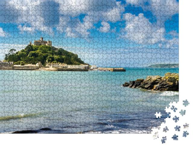 """Puzzle 1000 Teile """"St. Michael's Mount in Cornwall, England"""""""