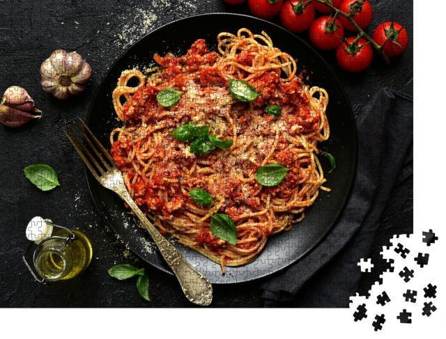 """Puzzle 1000 Teile """"Traditionelle italienische Spaghetti Bolognese"""""""