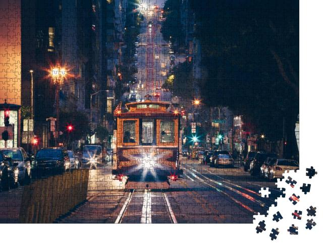 """Puzzle 1000 Teile """"San Francisco Cable Car"""""""
