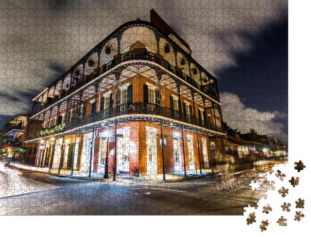 """Puzzle 1000 Teile """"French Quarters in der Innenstadt von New Orleans"""""""