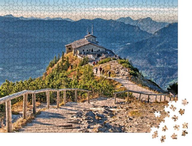 """Puzzle 1000 Teile """"Kehlstein-Haus bei Berchtesgaden"""""""