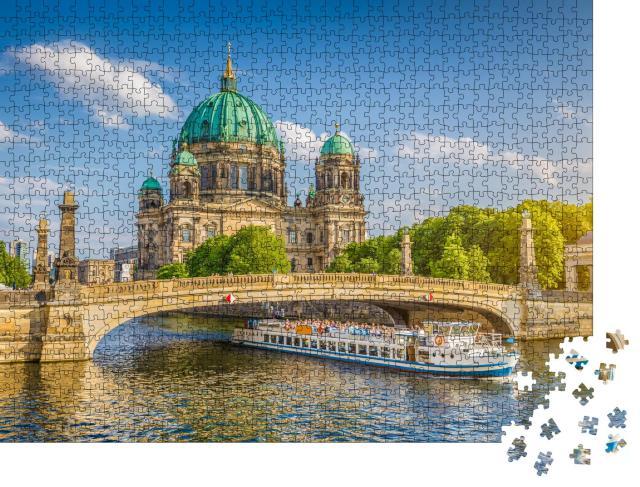 """Puzzle 1000 Teile """"Berliner Dom auf der Museumsinsel, Berlin, Deutschland"""""""