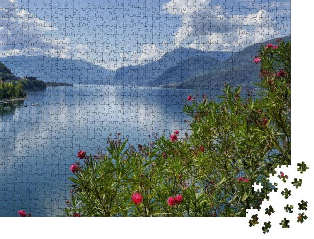 """Puzzle 1000 Teile """"Comer See, Italien"""""""