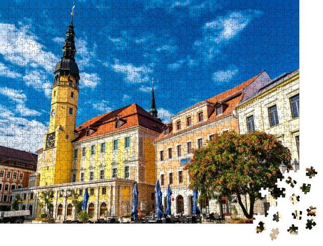 """Puzzle 1000 Teile """"Historisches Rathaus der Stadt Bautzen, Deutschland"""""""