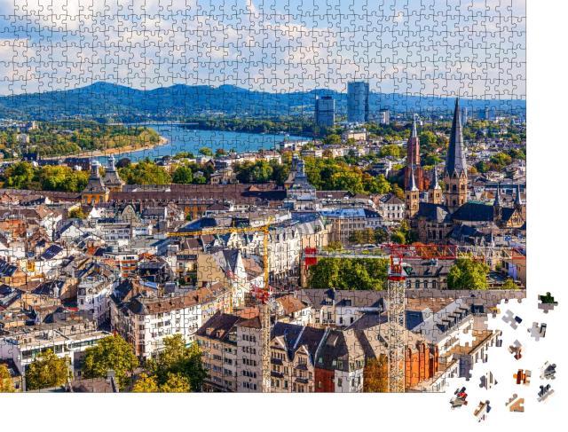 """Puzzle 1000 Teile """"Bonn, ehemalige Hauptstadt Deutschlands"""""""