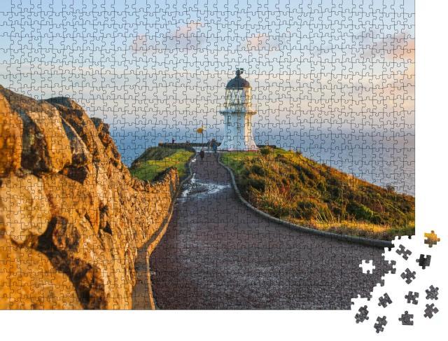 "Puzzle 1000 Teile ""Cape Reinga, nordwestlichster Punkt der Aupouri-Halbinsel, Neuseeland"""