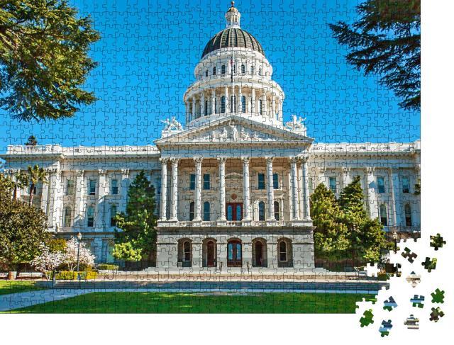 """Puzzle 1000 Teile """"California State Capitol, Sacramento, USA"""""""