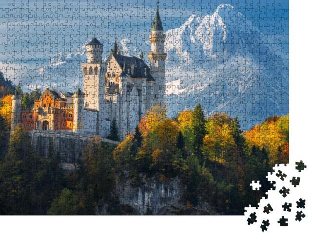 """Puzzle 1000 Teile """"Schloss Neuschwanstein, Bayern"""""""