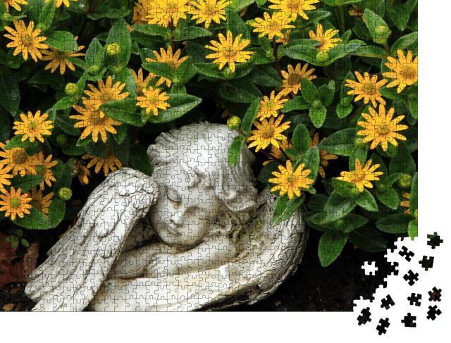 """Puzzle 1000 Teile """"schlafender Engel"""""""