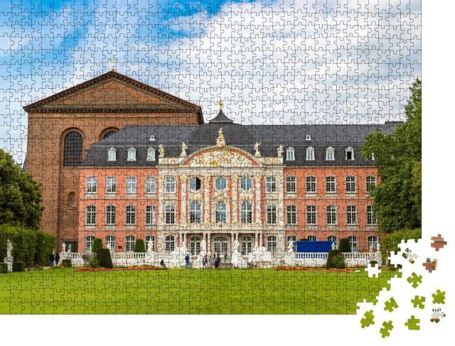 """Puzzle 1000 Teile """"Kurfürstliches Palais in Trier, Deutschland"""""""