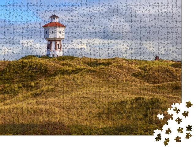 """Puzzle 1000 Teile """"Leuchtturm auf der Insel Langeoog, Niedersachsen, Deutschland"""""""