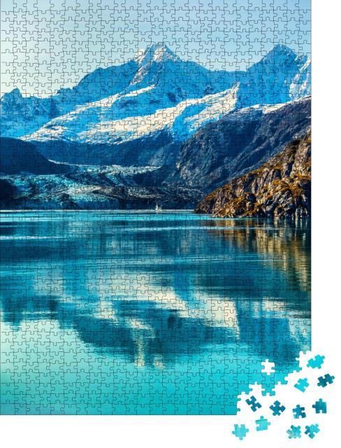 """Puzzle 1000 Teile """"Glacier Bay in Alaska"""""""