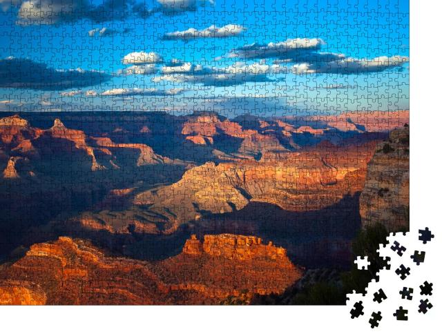 """Puzzle 1000 Teile """"Grand Canyon im Sonnenuntergang"""""""