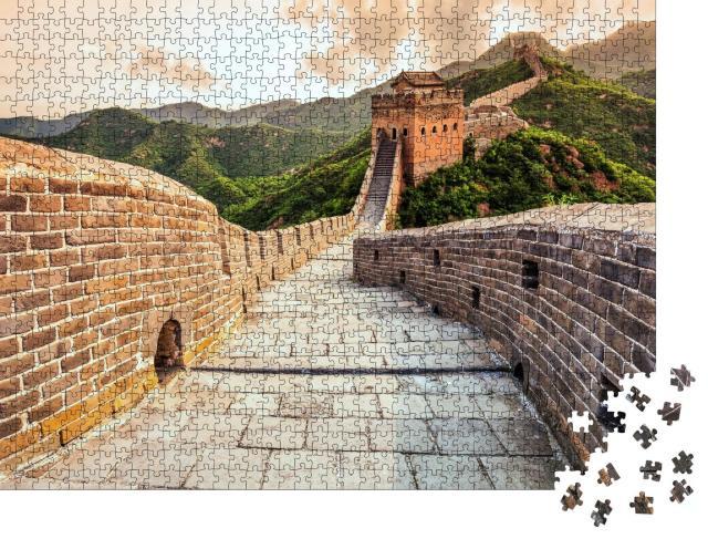 """Puzzle 1000 Teile """"Die chinesische Mauer"""""""