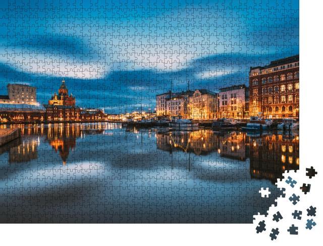 "Puzzle 1000 Teile ""Blick auf Helsinki, Finnland"""
