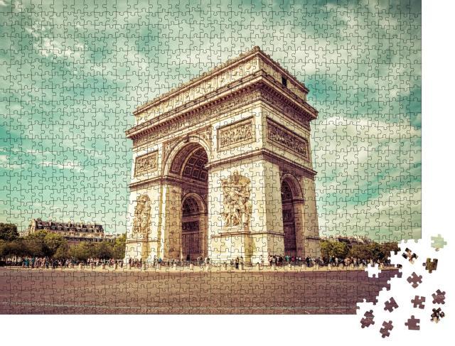 """Puzzle 1000 Teile """"Paris - Arc de Triomphe"""""""