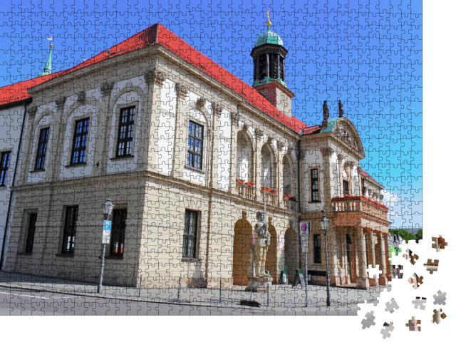 """Puzzle 1000 Teile """"Altes Rathaus von Magdeburg"""""""
