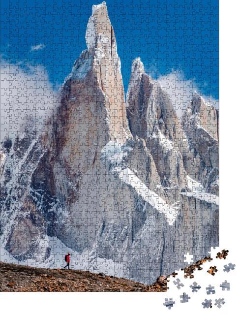 """Puzzle 1000 Teile """"Cerro Torre, der Berg von Patagonien"""""""
