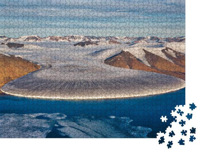 """Puzzle 1000 Teile """"Elefantenfußgletscher, Nordgrönland"""""""