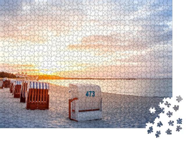"""Puzzle 1000 Teile """"Binz, Insel Rügen, Deutschland"""""""