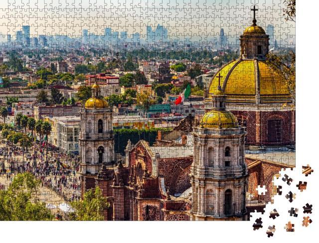 """Puzzle 1000 Teile """"Basilika Unserer Lieben Frau von Guadalupe, Mexiko-Stadt"""""""