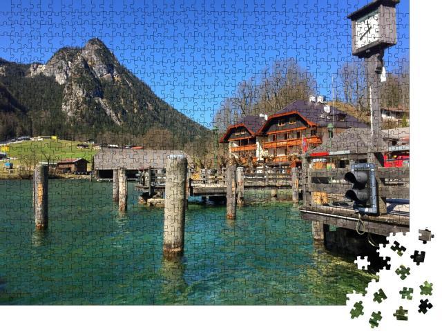 """Puzzle 1000 Teile """"Schöne Aussicht auf den Königssee, Deutschland"""""""