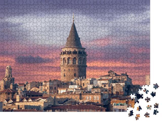 "Puzzle 1000 Teile ""Galata-Turm in Istanbul"""