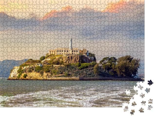 "Puzzle 1000 Teile ""Alcatraz Island in San Francisco, USA"""