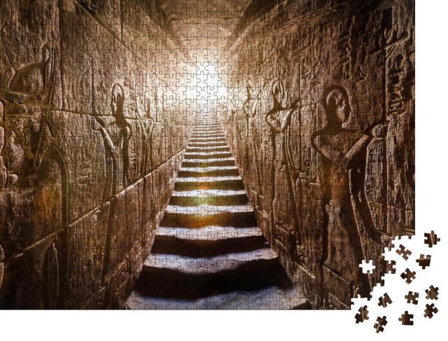 """Puzzle 1000 Teile """"Edfu-Tempel, Assuan, Ägypten"""""""