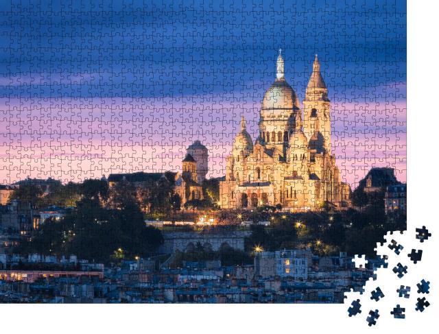 """Puzzle 1000 Teile """"Basilika Sacre Cœur, Montmartre, Paris"""""""