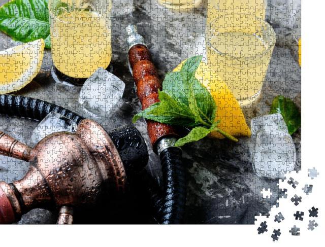 """Puzzle 1000 Teile """"Shisha und frische Getränke"""""""