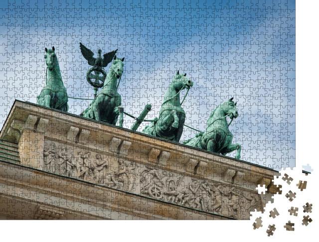 """Puzzle 1000 Teile """"Detailaufnahme: Brandenburger Tor, Berlin, Deutschland"""""""