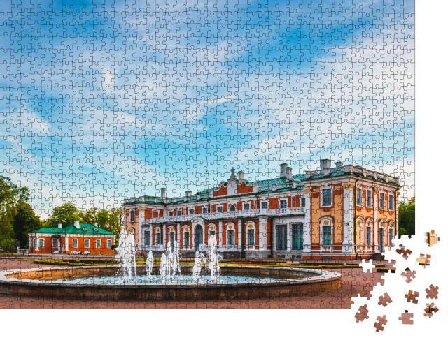 """Puzzle 1000 Teile """"Kunstmuseum Kadriorg im Kadriorg-Park in Tallinn, Estland"""""""