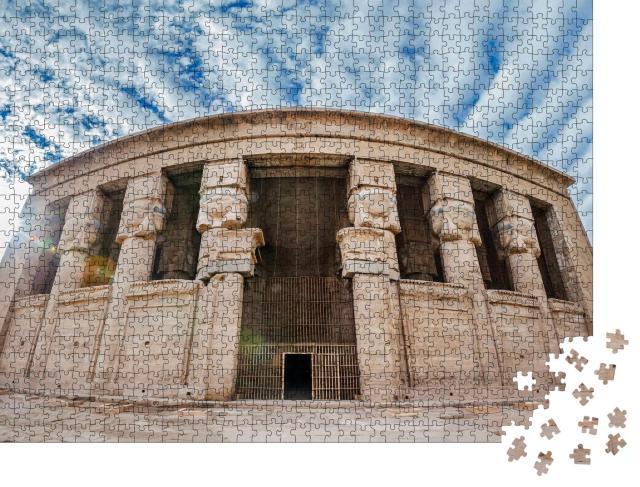 """Puzzle 1000 Teile """"Dendera-Tempel, auch bekannt als Tempel der Hathor, Ägypten"""""""